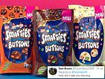 Nestle launches white, milk and orange and chocolate buttons stuff with Smarties