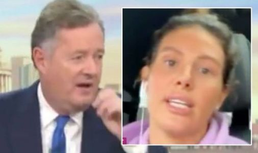 Rebekah Vardy hits back at Piers Morgan for savage Dancing on Ice swipe: 'That's rich!'