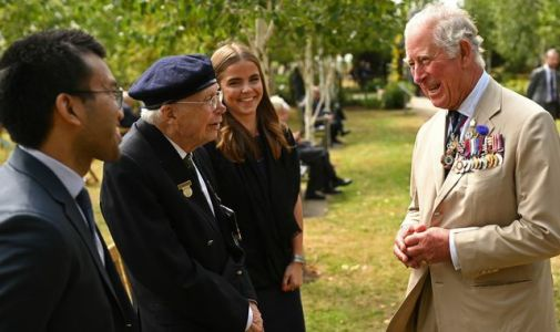 Charles leads tributes to 'forgotten army' on 75th anniversary of VJ Day