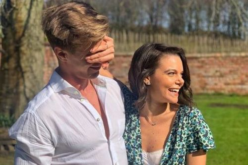 Faye Brookes shares loved-up snap alongside new boyfriend at lockdown party