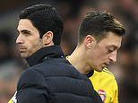 Mesut Ozil SLAMS Arsenal for a lack of 'loyalty' after being left out of Premier League squad