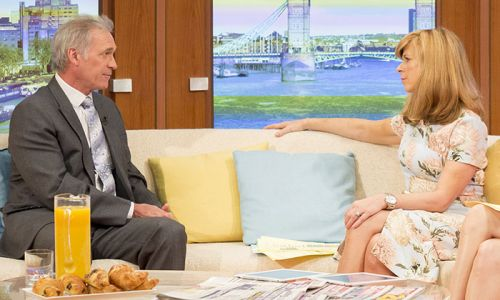 GMB's Dr Hilary reveals he advised Kate Garraway to call an ambulance after speaking to Derek Draper on the phone