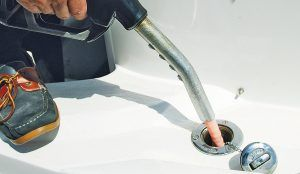 Marine 16 Diesel Dipper tested: Can this fuel filter really clean your tank too?