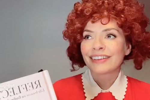 Holly Willoughby dresses up as Annie in sweet video 'directed and produced' by her daughter