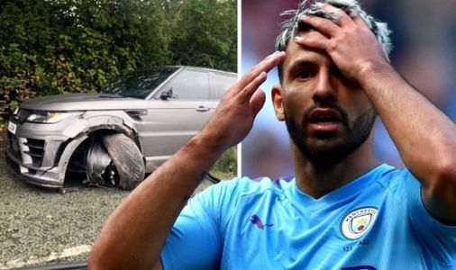 BREAKING: Man City star Sergio Aguero involved in car crash before training this morning
