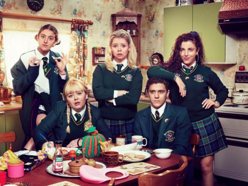 Derry Girls creator and star react to comedy being described by media minister as 'distinctively British'
