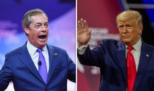 Nigel Farage's shock Donald Trump confession revealed - 'it's all down to me!'