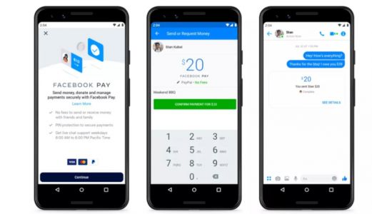 Facebook Pay brings new payments to Instagram, WhatsApp, and Facebook