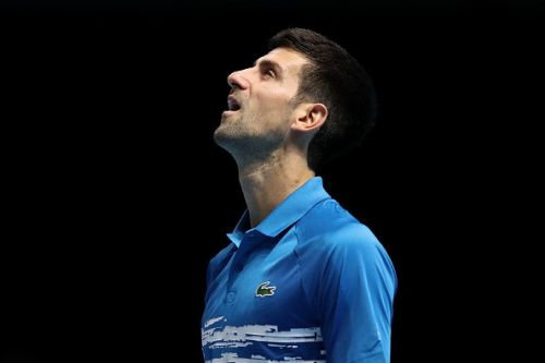 Novak Djokovic reacts to losing No. 1 battle with Rafael Nadal after Roger Federer defeat