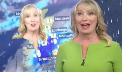 Carol Kirkwood disappeared off screen during BBC Breakfast weather report - did you see?