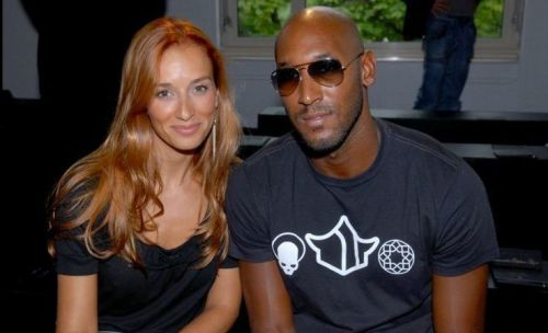 Who is Nicolas Anelka's wife Barbara Anelka Tausia, how long have they been together and how has she shaped his career?