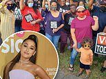 Ariana Grande sends food and coffee trucks to voters waiting in line in Kentucky