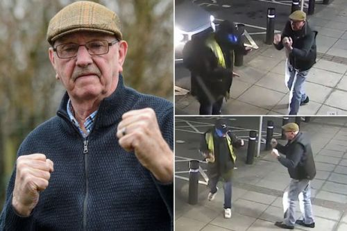 Pensioner, 77, who fought off cashpoint mugger 'never had a fight in his life'
