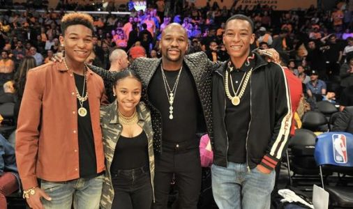Floyd Mayweather daughter lyanna 'arrested after knife incident' with NBA YoungBoy fiance