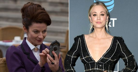 Doctor Who's Michelle Gomez joins The Big Bang Theory's Kaley Cuoco in The Flight Attendant