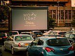 Drive-in cinema scraps Halloween movie n because the car park is in England and screen in Wales