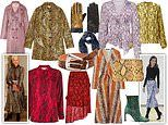 Charming in snake! FEMAIL picks out the best buys for embracing fashion's favourite print