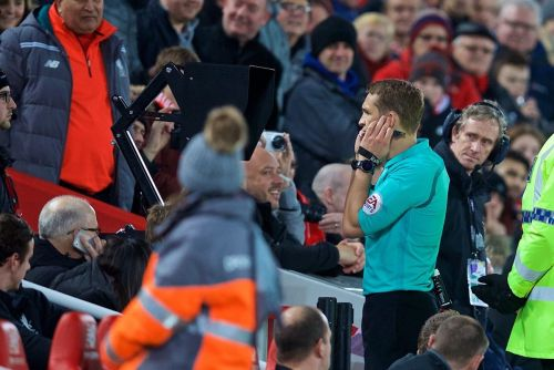 Referees advised to use pitchside monitors on red card decisions