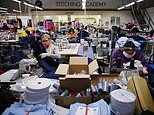 ASOS clothes factory is producing up to 5,000 scrubs a week for frontline NHS staff