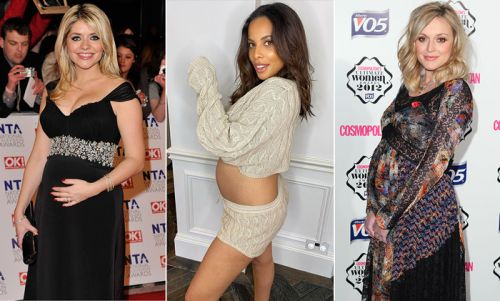 13 strangest celebrity pregnancy cravings: Holly Willoughby, Victoria Beckham & more