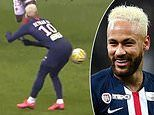 That's cheeky! Neymar pulls off audacious pass with his BACKSIDE