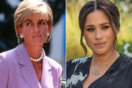 Princess Diana 'suffered in silence' with mental health like Meghan Markle