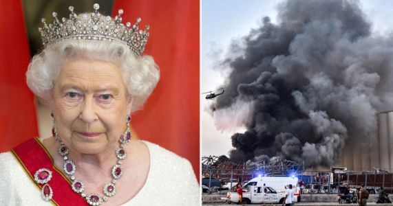 The Queen has sent a message of condolence to the President of the Republic of Lebanon