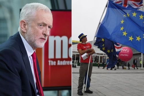 Jeremy Corbyn refuses to say whether he would vote to stay in the EU or leave in a second referendum