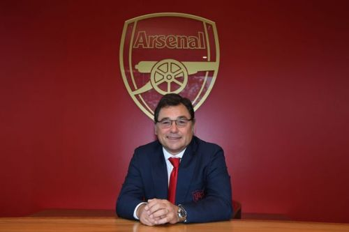 Arsenal announce head of football Raul Sanllehi has left Emirates