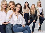 Christie Brinkley and daughters Sailor Brinkley-Cook and Alexa Ray Joel pose for fashion campaign
