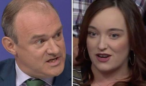 Lib Dem Davey rocked as BBC QT audience turn on him after viewer makes shock Brexit point