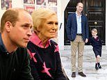 Prince William reveals football fan George sent a list to Father Christmas