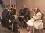 Prince Harry and red-head girl bond over hair colour - as Meghan reveals Archie is also ginger