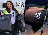 M&S donate thousands of clothes to hospital workers and start free delivery service