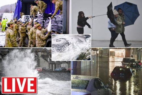 Storm Dennis live: Flooding evacuations after rare Met Office 'red' rain warning