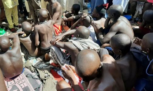 Hundreds of abused boys and young men rescued from Nigeria school