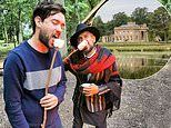 Jack Whitehall celebrated his 32nd birthday with a £10,000 three-day long bash at a Grade II listed manor house