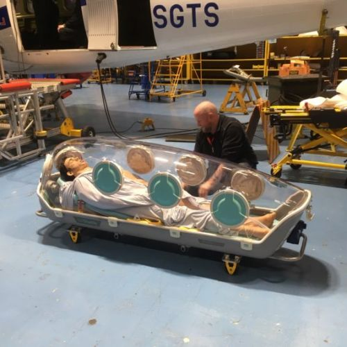 Loganair converting aircraft to carry Covid-19 patients