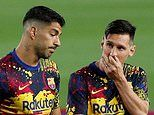 Suarez calls on Barcelona's board to match Messi's ambitions in order to stop star walking away