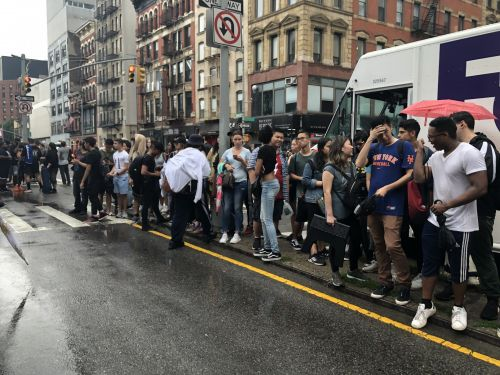 Chaos and violence erupted when hundreds of people showed up to get 99-cent sneakers from Adidas and Arizona Iced Tea - see what happened