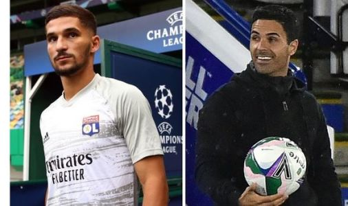 Houssem Aouar to Arsenal transfer development as Lyon chief speaks out on £53m move