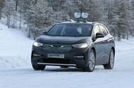 Volkswagen ID 4: electric SUV winter tests in curious disguise