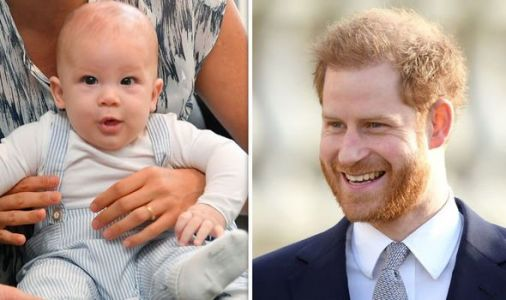 Baby Archie's mystery godmother finally revealed as Harry's much loved childhood mentor