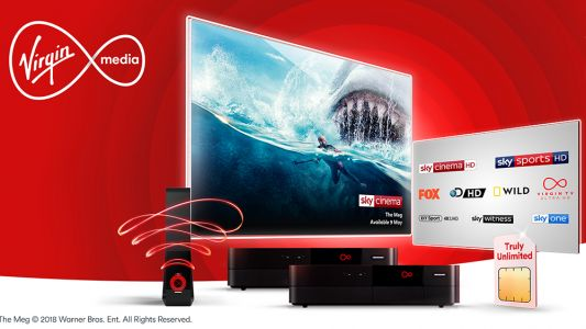 Virgin Media customers get 18 entertainment channels free