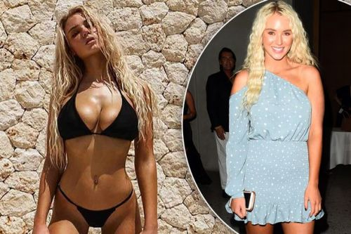 Love Island's Lucie Donlan showcases her toned abs after post-villa fitness journey
