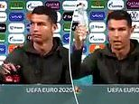 Euro2020: Coca-Cola respond after Ronaldo told fans to drink water instead of fizzy drinks