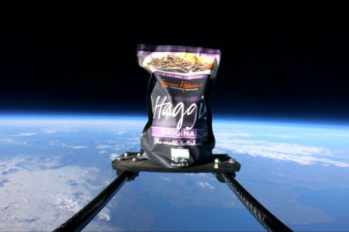 Butcher takes Burns Night to new heights by sending haggis into space