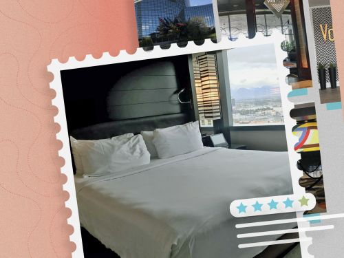 If you don't mind a Vegas hotel without a casino, Vdara offers excellent value with quiet apartment-style rooms, low prices year-round, and a prime Strip location