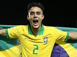 Barcelona 'leading the race for Brazilian defender Yan Couto' but Arsenal are also keen