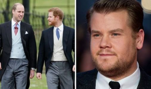 James Corden 'hosted dance-off between William and Harry' at Meghan's wedding to Duke